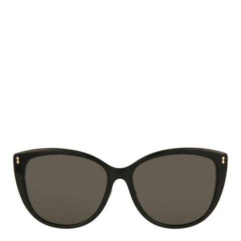 Gucci Womens Gucci Havana/Grey Sunglasses 58mm