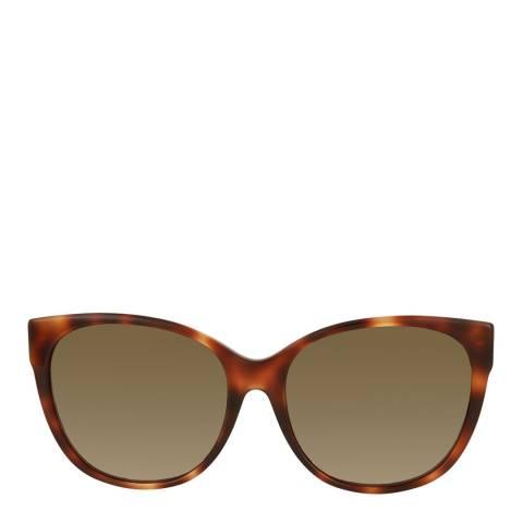 Gucci Womens Gucci Brown Sunglasses 58mm