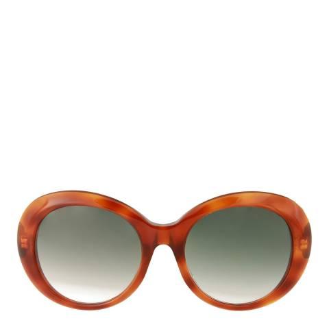 Gucci Womens Gucci Green Sunglasses 55mm