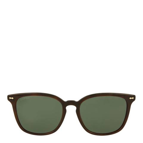 Gucci Womens Gucci Green Sunglasses 56mm