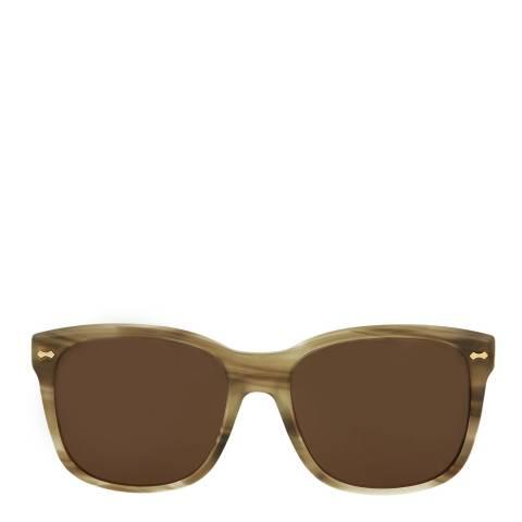 Gucci Womens Gucci Havana/Brown Sunglasses 49mm