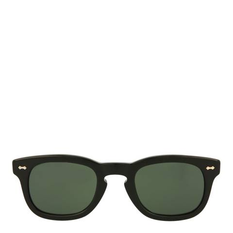 Gucci Womens Gucci Black/Green Sunglasses 49mm