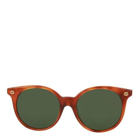 Gucci Womens Gucci Green Sunglasses 53mm