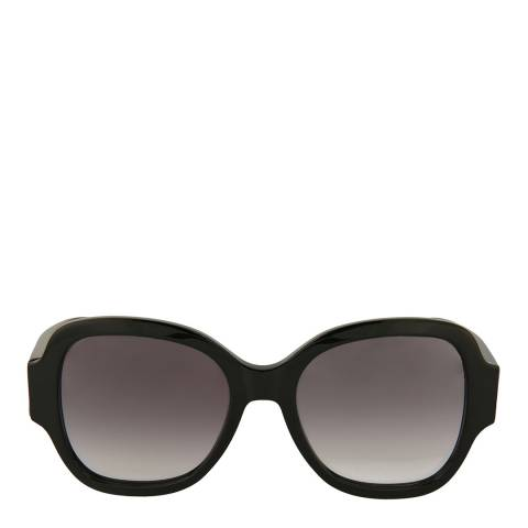 Saint Laurent Womens Saint Laurent Black/Green Sunglasses 53mm