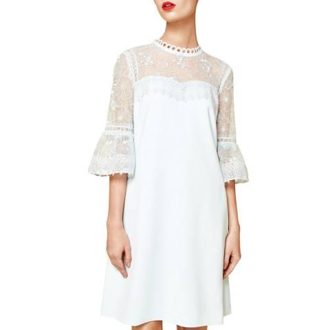 Ted Baker Pale Blue Raechal Lace Dress