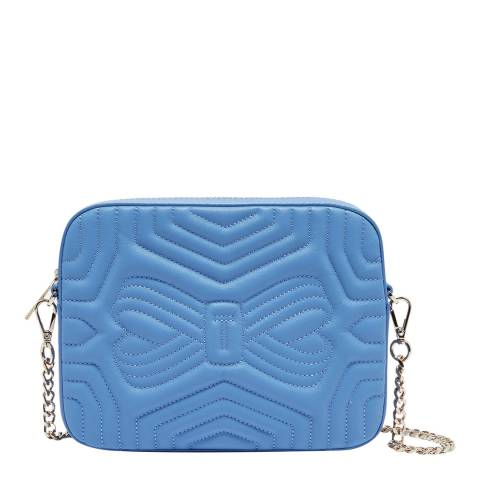 Ted Baker Pale Blue Sunshine Quilted Camera Bag