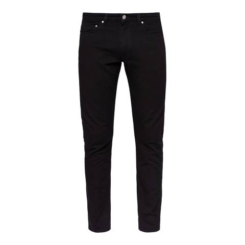 Ted Baker Black Rinse Tamez Tapered Fit Jeans