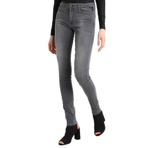 Replay Grey Zackie Slim Stretch Jeans