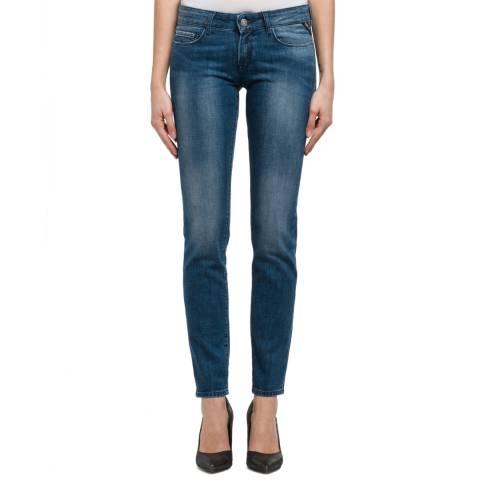 Replay Indigo Rose Slim Stretch Jeans