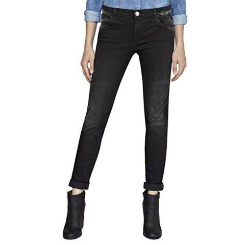 Replay Black Wash Hyperflex Katewin Slim Stretch Jeans