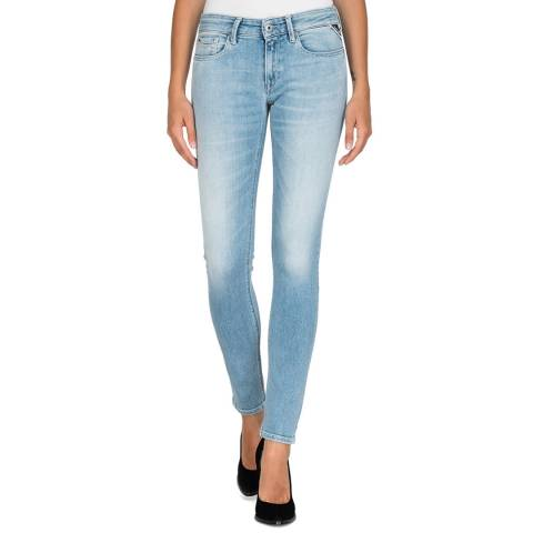 Replay Blue Luz Skinny Stretch Jeans