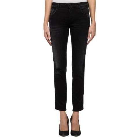 Replay Black Hyperflex Katewin Slim Stretch Jeans