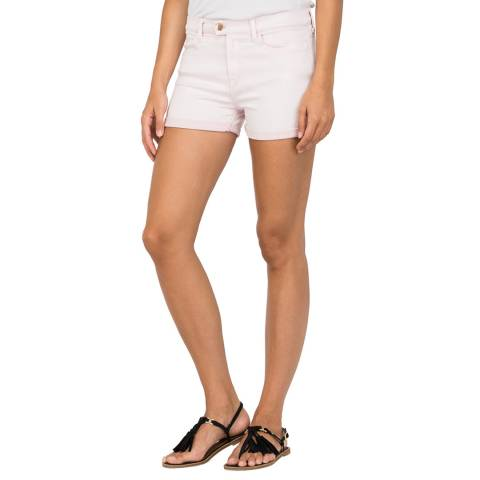 Replay Light Pink Touch Skinny Fit Shorts