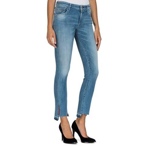 Replay Blue Dominiqli Slim Fit Stretch Jeans