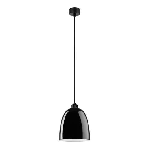 Sotto Luce Glossy Black Pendant Light