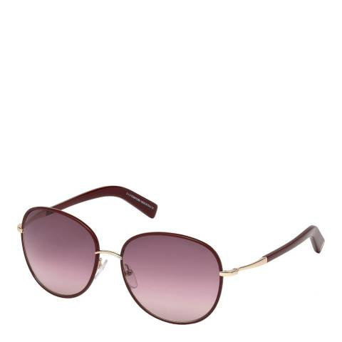 Tom Ford Women's Shiny Bordeaux Georgia Sunglasses 59mm