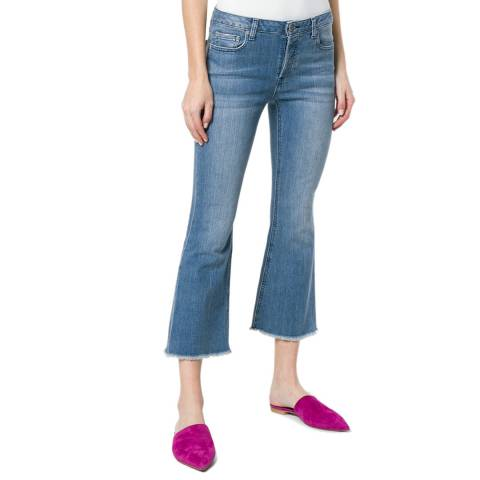 Michael Kors Cropped Pearl Wash Jeans