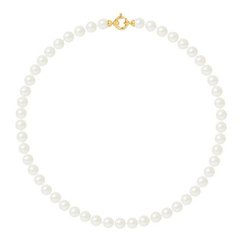 Ateliers Saint Germain Yellow Gold Freshwater Pearl Necklace