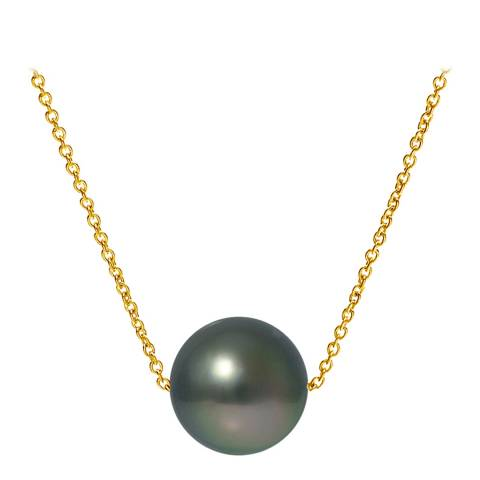 Ateliers Saint Germain Yellow Gold Tahitian Style Pearl Necklace