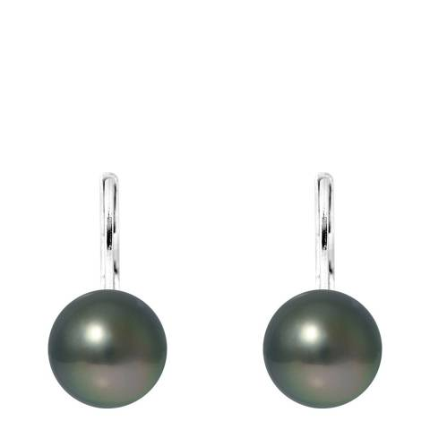 Atelier Pearls Silver Tahitian Style Pearl Earrings