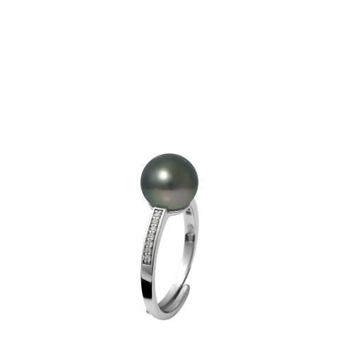 Ateliers Saint Germain Silver Tahitian Style Pearl Ring