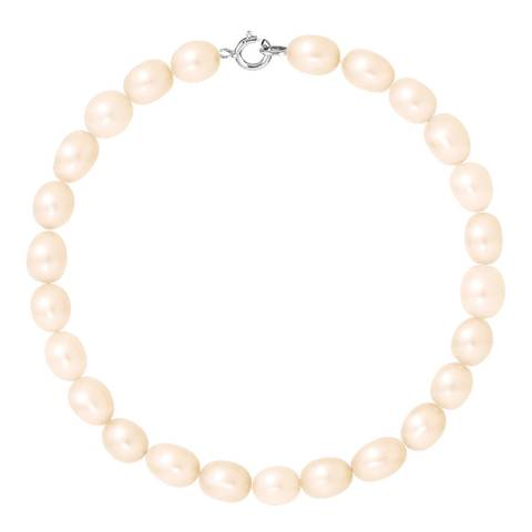 Atelier Pearls White Gold Natural Pink Pearl Bracelet