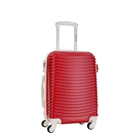 Bagstone Red Honey 4 Wheeled Suitcase 50cm
