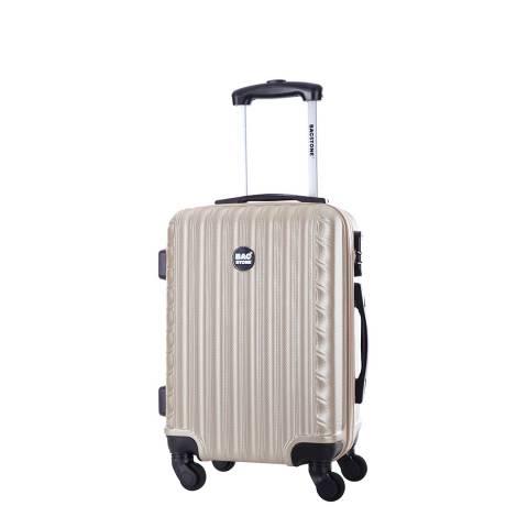 Bagstone Beige Sweety 4 Wheeled Suitcase 50cm