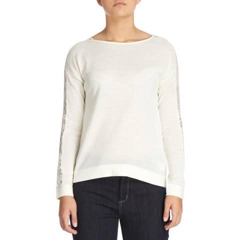 DKNY Ivy Long Sleeve Boat Neck Jumper