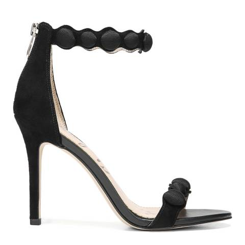 Sam Edelman Black Suede Addison Heeled Sandals
