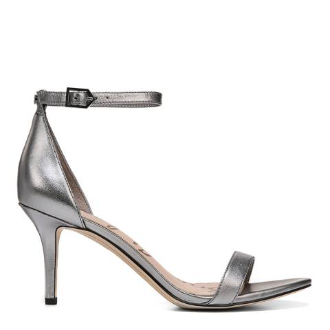 Sam Edelman Pewter patti heeled sandal
