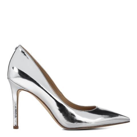 Sam Edelman Silver Leather Hazel court shoe