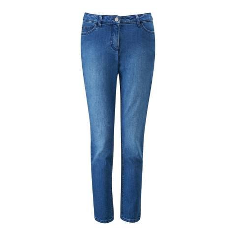 Pure Collection Mid Wash Cropped Jean