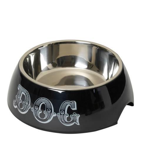 House Of Paws Black XLarge Dog Bowl