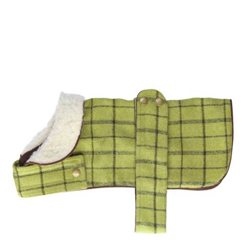 House Of Paws Green Large Tweed Jacket 35x40cm