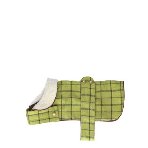 House Of Paws Green Small Tweed Jacket 25x30cm
