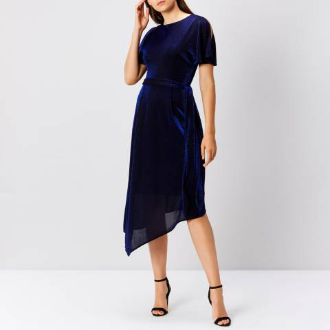 Coast Cobalt Blue Jemma Sparkle Jersey Dress
