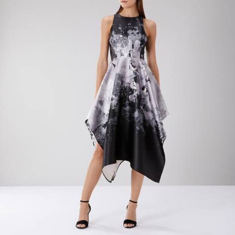 Coast Mahonia Jacquard Midi Dress