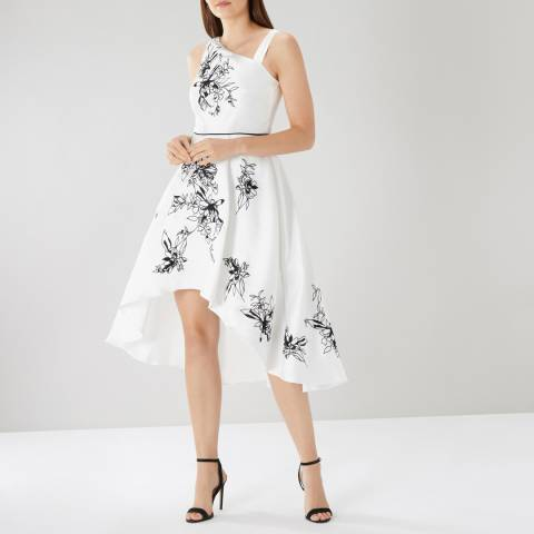 Coast Aster Embroidered Dress