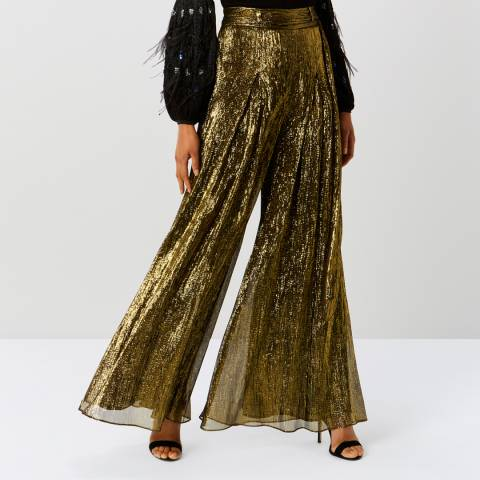 Coast Gold Micha Metallic Trouser