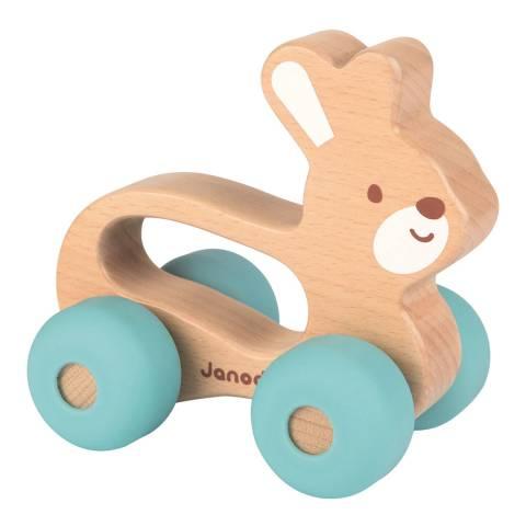 Janod Babypop Push Along Bunny
