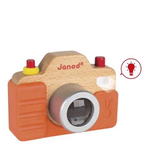 Janod Wooden Play Sound Camera Toy