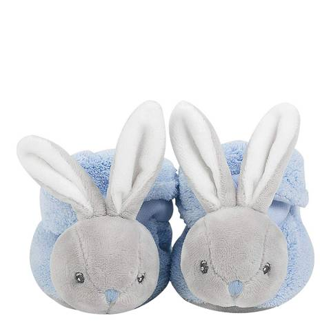 Kaloo Blue Rabbit Booties