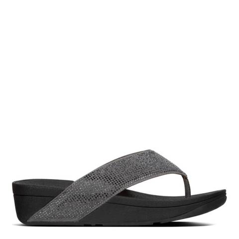FitFlop Pewter Ritzy Toe Thong Sandals