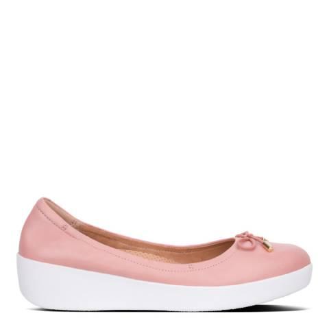 FitFlop Dusky Pink Superbendy Ballerinas