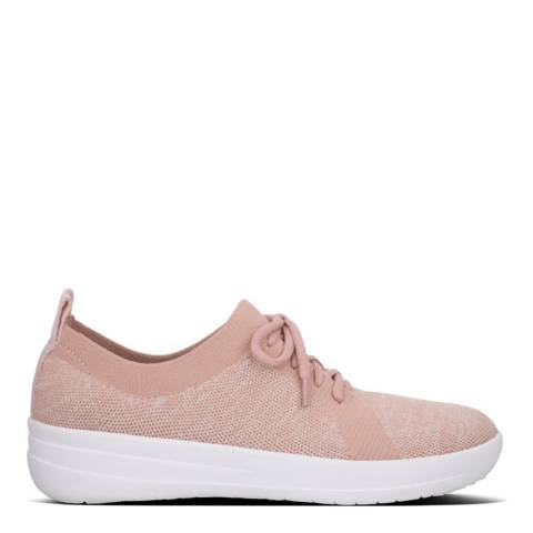 FitFlop Blush Pink F-Sporty Uberknit Sneakers