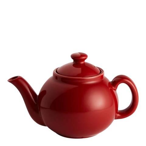 Soho Home Tiny Teapot, Red