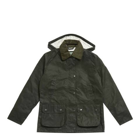 Soho Home Women's Green Farmhouse Wax Jacket