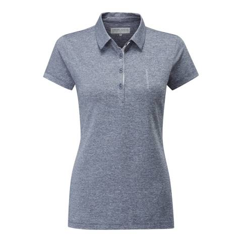 Henri Lloyd Blue Aspire Short Sleeve Polo