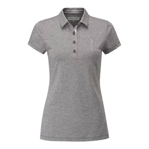Henri Lloyd Grey Aspire Short Sleeve Polo